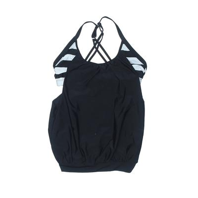 Active Tank Top: Black Solid Act...