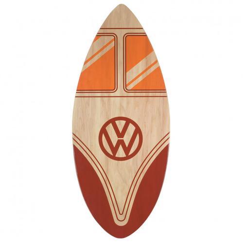 VW Collection - VW T1 Bus Skimboard Echtholz - Strandspielzeug Gr 44 x 104 cm rot