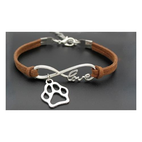 Armband: 2 / Braun und Minze