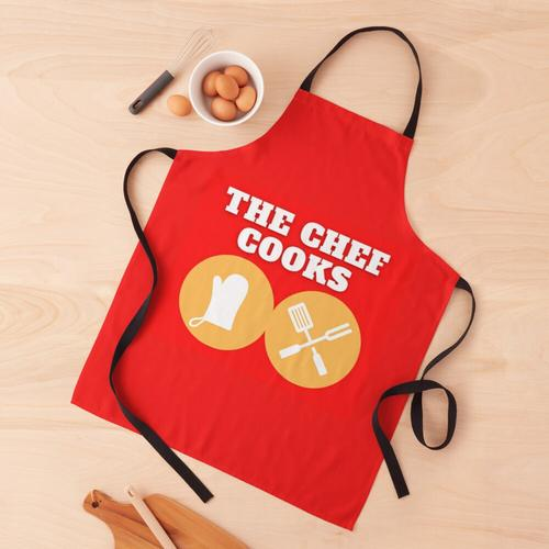 Der Koch kocht - Küche - Kochen Schürze