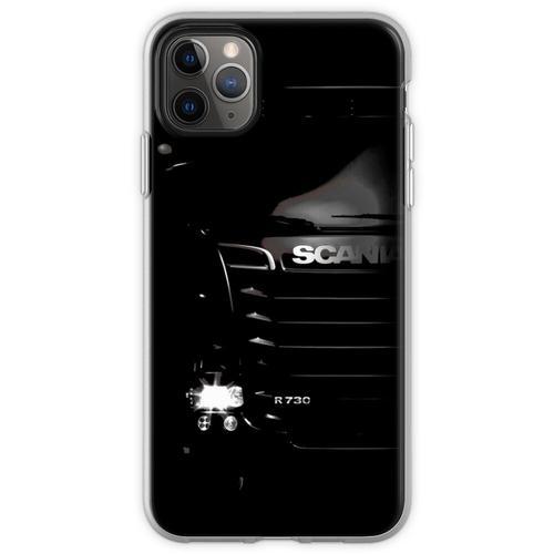 Scania LKW T-Shirt, Scania LKW Scania R730 Trucker Camion Car A Flexible Hülle für iPhone 11 Pro Max