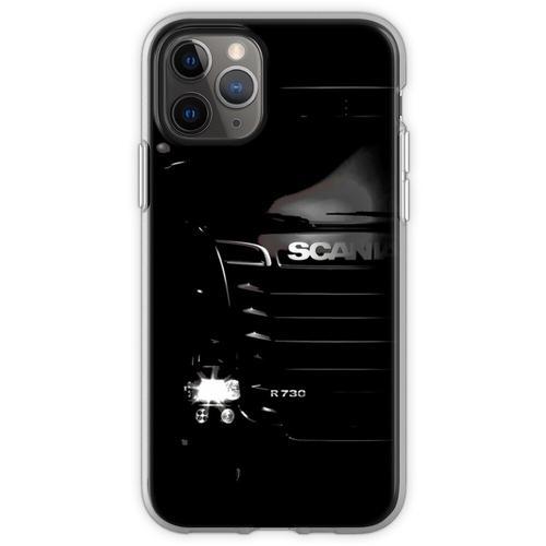 Scania LKW T-Shirt, Scania LKW Scania R730 Trucker Camion Car Autom Flexible Hülle für iPhone 11 Pro