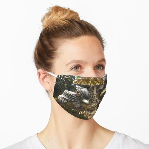 Dreistufige Amanita Maske