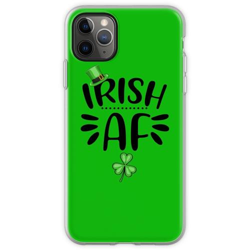 Irisches AF-Hemd, St. Patrick's Day-Hemd, irische Geschenke, St Flexible Hülle für iPhone 11 Pro Max