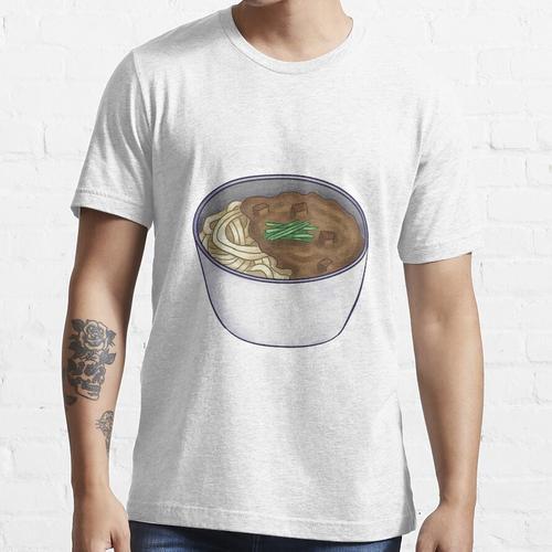 Jajangmyeon (koreanische Nudeln mit schwarzer Bohnensauce) Essential T-Shirt