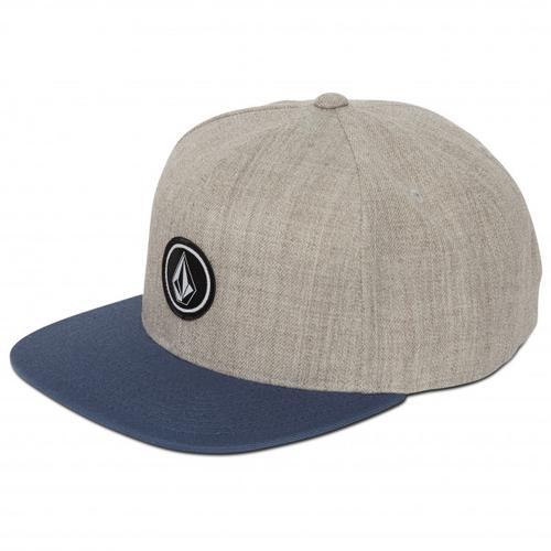 Volcom - Quarter Twill - Cap Gr One Size grau/blau
