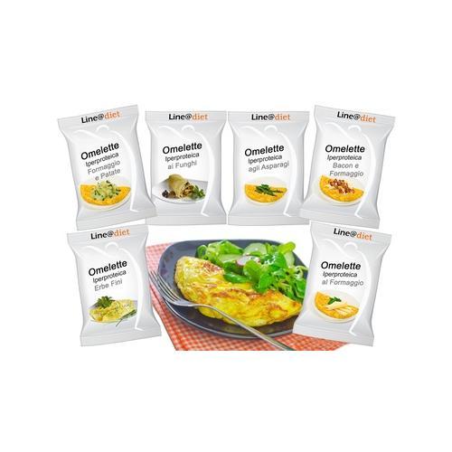 Protein-Omelett: Käse + Pilze / 20