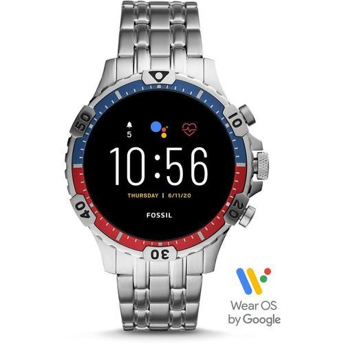Fossil Gen 5 Smartwatch Garrett HR Edelstahl