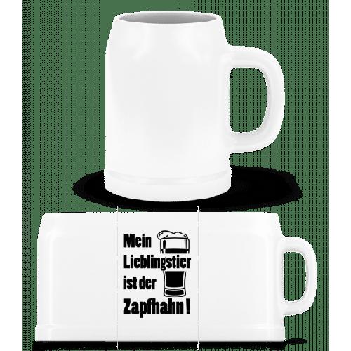 Lieblingstier Zapfhahn - Bierkrug