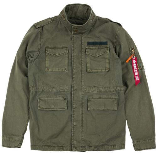 Alpha Industries Huntington Jacke, grün, Größe S