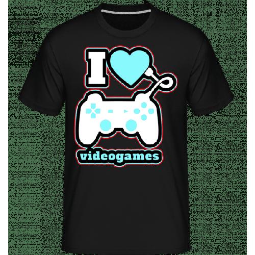 I Love Videogames - Shirtinator Männer T-Shirt