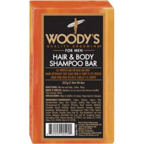 Woody's Hair & Body Shampoo Bar 227 g Festes Shampoo