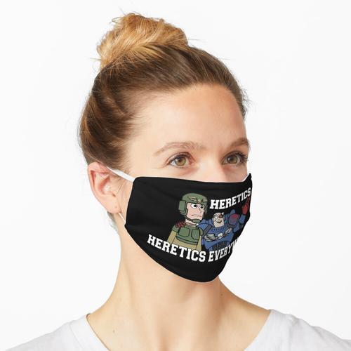 Ketzer, Ketzer überall !! 40k Drucken Maske
