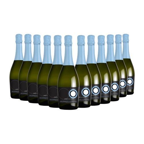 Italienischer Schaumwein Infinito: 12 Flaschen