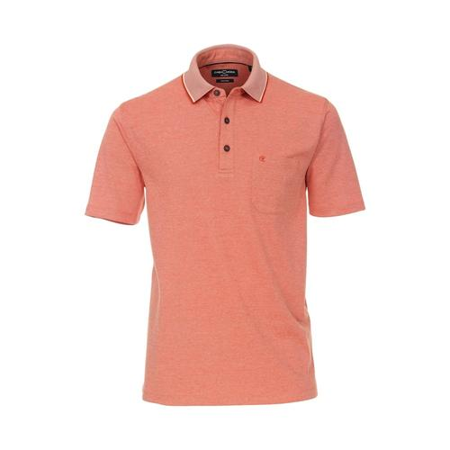 Polo-Shirt uni CASAMODA Rotorange