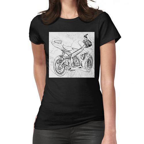 yamahaR6 Fahrrad Frauen T-Shirt