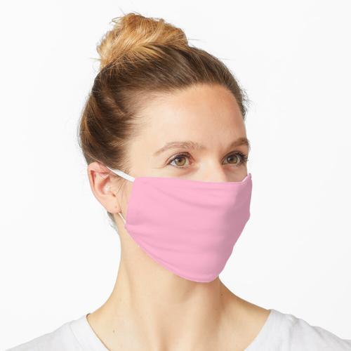 Einstellbare rosa Maske Maske
