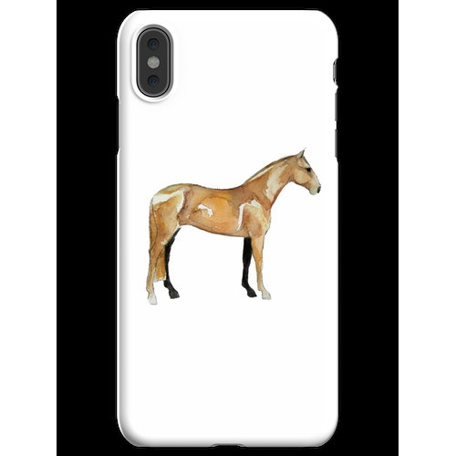 Standardbred iPhone XS Max Handyhülle