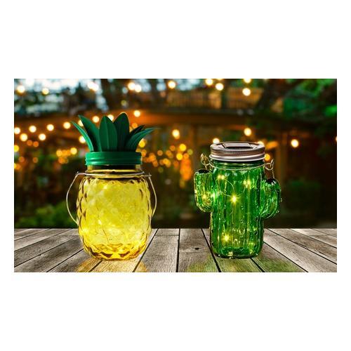 LED-Solarleuchte: Ananas/2