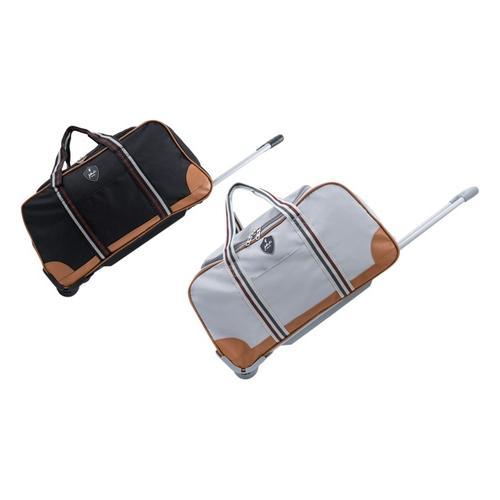 Reisetasche Jasper: Mittelgroße Reisetasche/ Schwarz