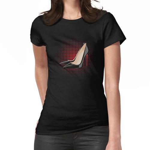 Designer High Heel Pumps Frauen T-Shirt