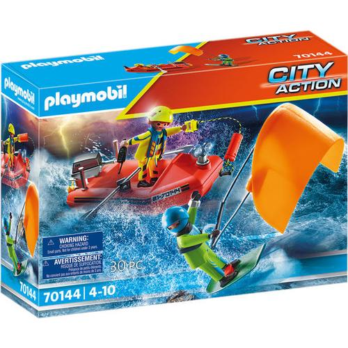 PLAYMOBIL® City Action 70144 Seenot: Kitesurfer-Rettung mit, bunt