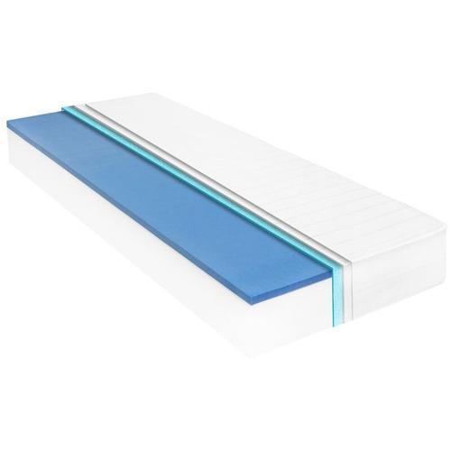 Matratze 120 x 200 cm Viskoelastischer Memory-Schaum 18 cm