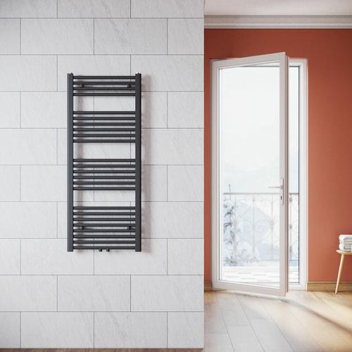 Handtuchhalter Heizung 1200 x 500 mm Heizkörper Bad Badheizkörper Mittelanschluss Handtuchtrockner