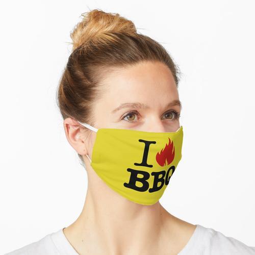 Ich liebe Grill Maske