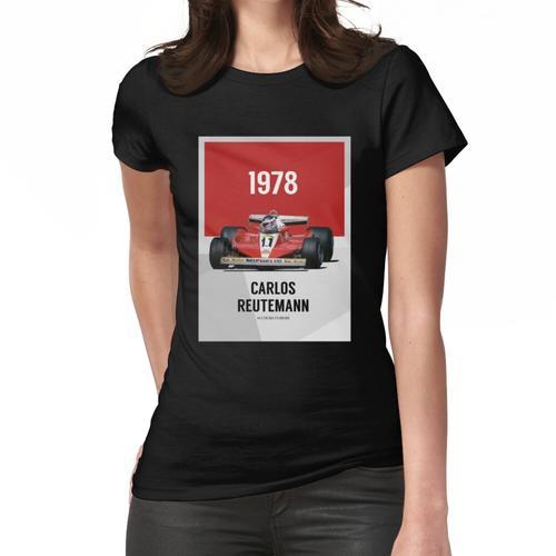 Carlos Reutemann - F1 1978 Frauen T-Shirt