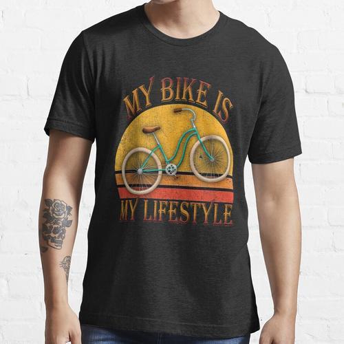 Mein Fahrrad ist Mylifestyle Essential T-Shirt