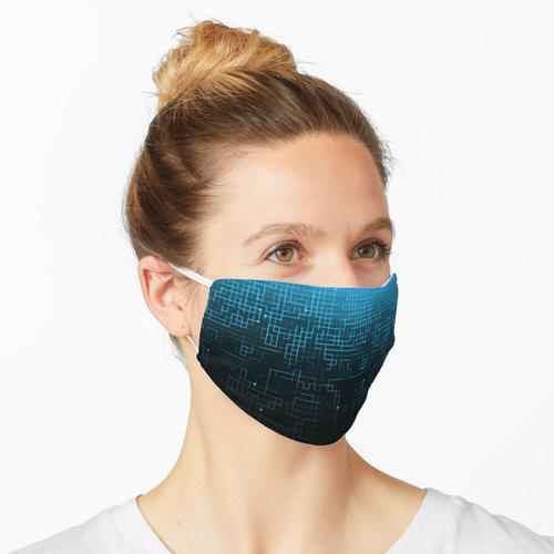Schaltung - Blau Maske