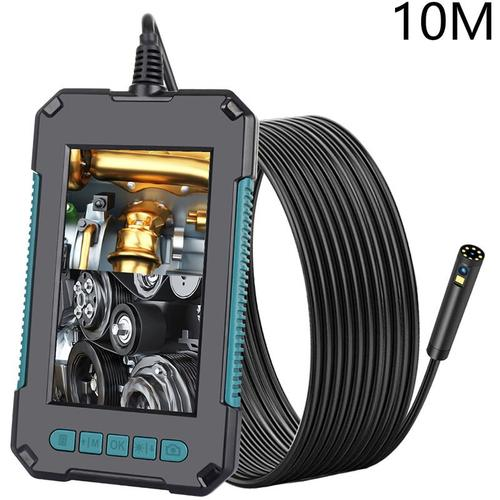 P40 Dual-Kamera Mit 8 Mm Durchmesser 4,3 Zoll-Bildschirm Des Endoskoplinse 8 + 1Led Ip68