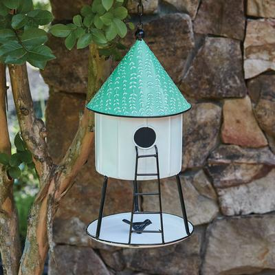 Hanging Hut Birdhouse - CTW Home Collection 770453