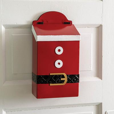 Santa Suit Hanging Mailbox - CTW Home Collection 770381