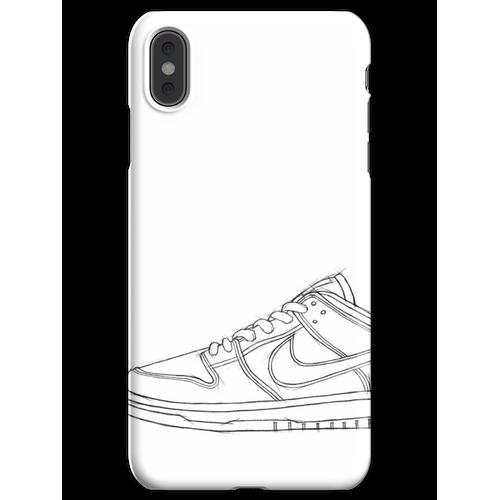 SB Dunk Sketch Sneaker Kunst iPhone XS Max Handyhülle