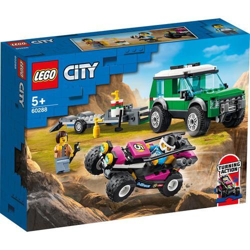 LEGO®City 60288 Rennbuggy-Transporter, bunt