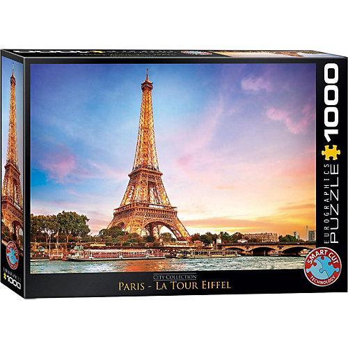 Puzzle 1000 Teile-Paris Eiffelturm