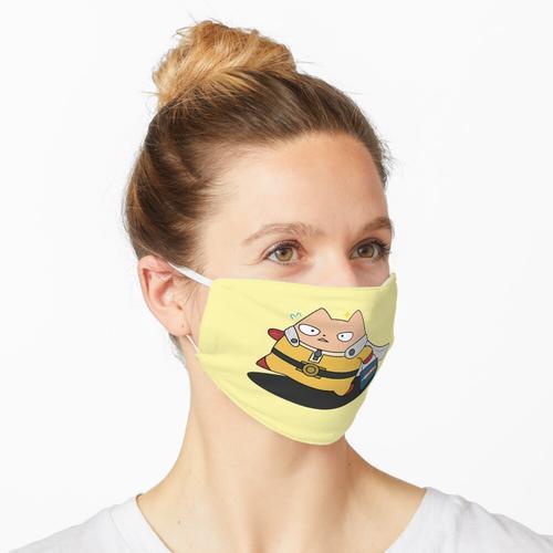 Saitama Katze Maske