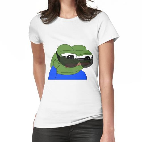 Sonnenbrille Pepe The Frog, SELTENE Pepe The Frog, Pepe The Frog mit Sonnenbrille, Bi Frauen T-Shirt
