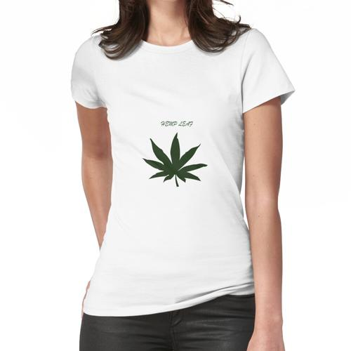 Hanfblatt Frauen T-Shirt