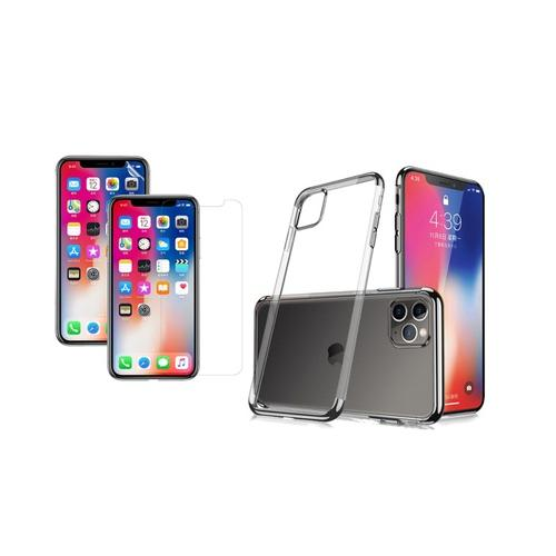 Transparentes Case: iPhone XR/ Rot
