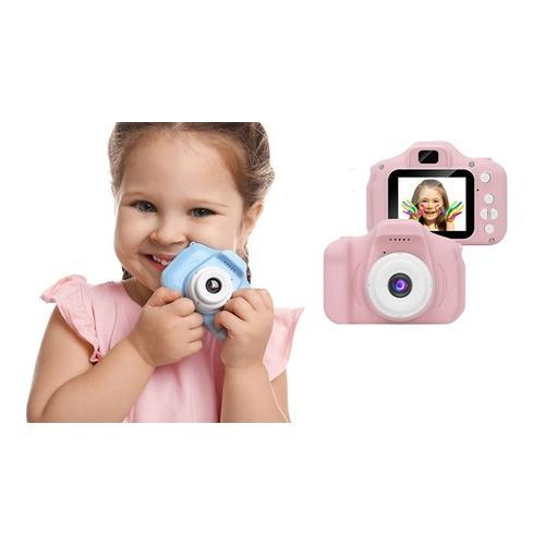 Kamera für Kinder: Pink / Ohne Speicherkarte