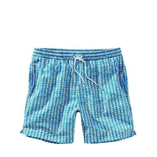 Mey & Edlich Herren Shorts Haifisch-Badeshorts blau L, M, S, XL, XXL