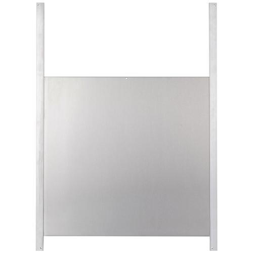 Hühnerklappe Tür-Set Profi - extra hohe Hühner-Schiebetür für Hühnerklappe, Alu 430 x 400mm