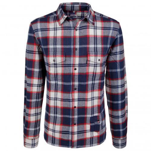 Alprausch - Herr Fuchs Shirt - Hemd Gr S grau/blau