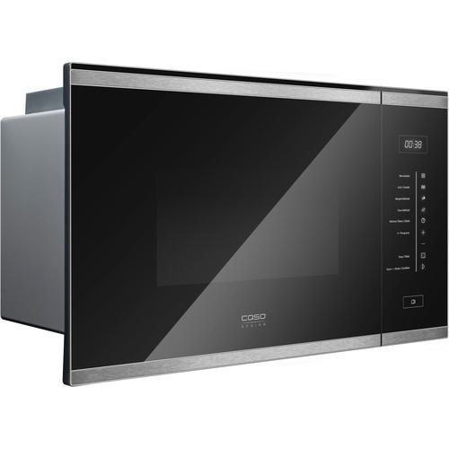 Caso Einbau-Mikrowelle EMGS 25 Premium, Mikrowelle-Grill, 900 W schwarz Mikrowelle SOFORT LIEFERBARE Haushaltsgeräte