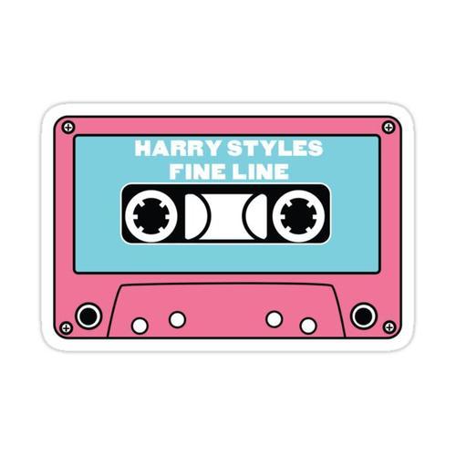 Fine Line Tape Sticker