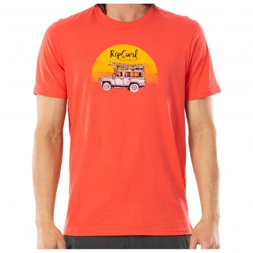 Rip Curl - Endless Search Tee - T-Shirt Gr S rot/beige