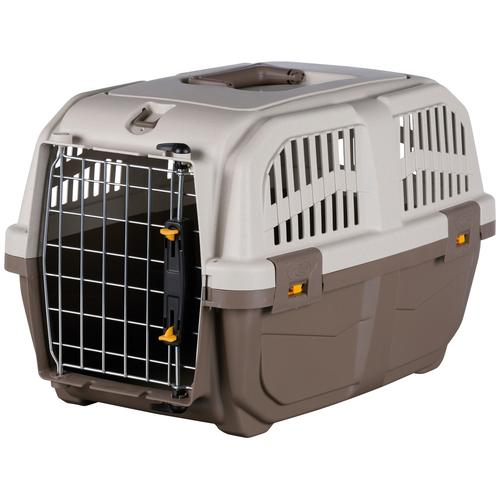 TRIXIE Tiertransportbox Skudo 1 XS, bis 12 kg, BxTxH: 30x49x32 cm beige Hundetransport Hund Tierbedarf